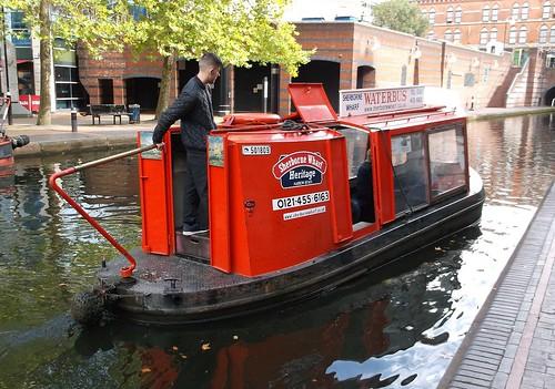 Birmingham Waterbus aft