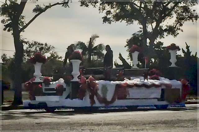 Downey Christmas Parade prep