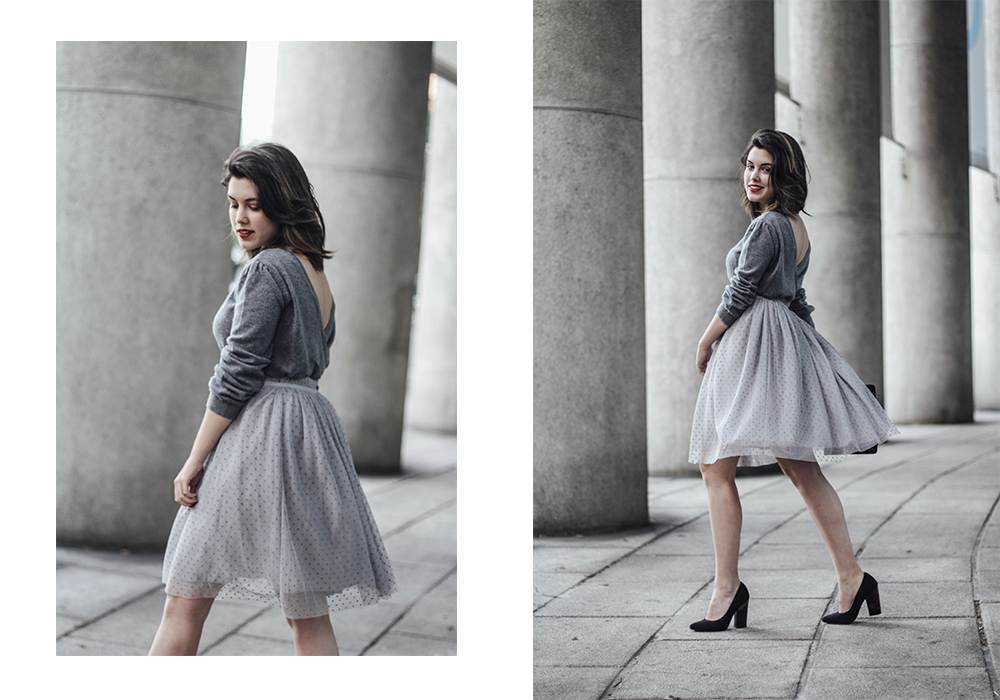 christmas look with tulle skirt la redoute myblueberrynightsblog