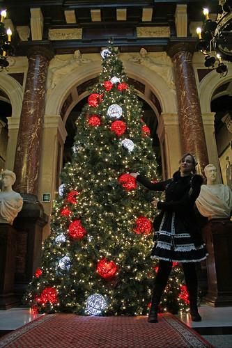 Lora presents: the Christmas tree!