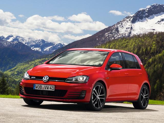Дизельный хот-хэтч Volkswagen Golf GTD (Typ 5G). 2013 год