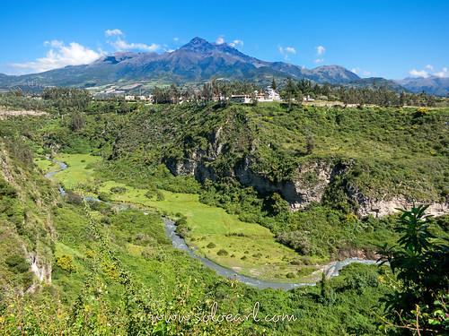 volcano ecuador cotacachi imbabura