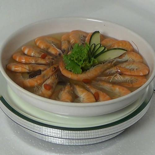 紹興醉海蝦