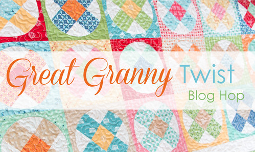 great granny twist blog hop - title