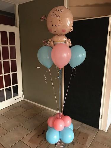 Ballonboeket Geboorte Baby