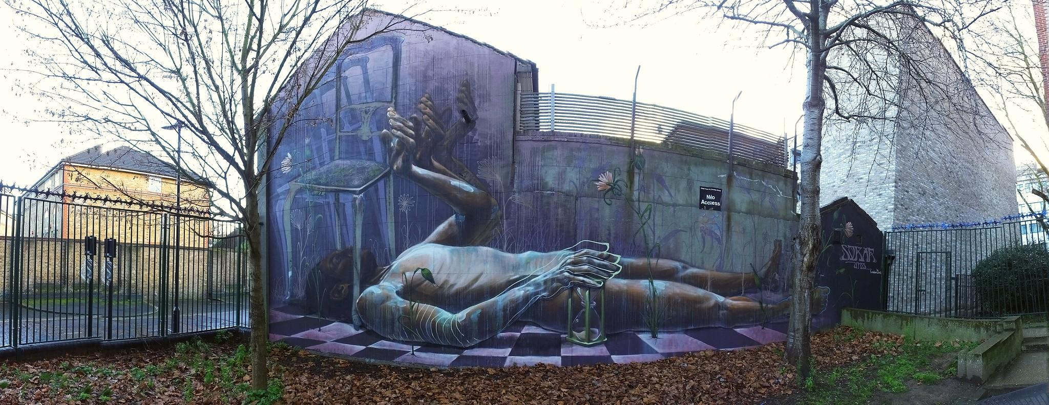 Camden Street Art by Sokar Uno