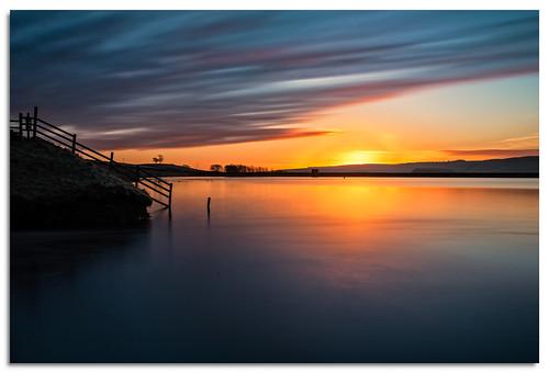 embsayreservoir embsay reservoir water yorkshire yorkshiredales sunrise d600 ngc nikonfxshowcase nikkor1635mmf4 sky