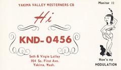 Seth & Virgie Lolley - Yakima, Washington