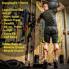 After a few days of r&r in Southern Utah feels good to get back in the #EveryDayFit Home Gym. It will be short lived as Little Sahara sand dunes just 2 days away.