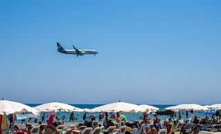 صورة  Mackenzie Beach. sea summer beach cyprus august mackenzie larnaca 2015