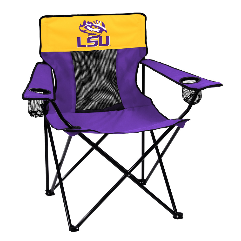 LSU Elite TailGate/Camping Chair