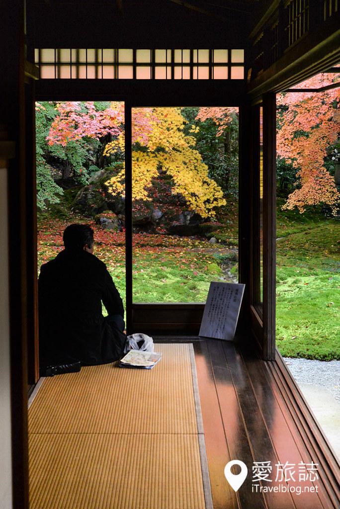 京都赏枫景点 琉璃光院 40