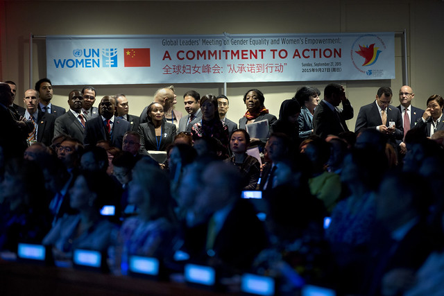 Global Leaders' Meeting on Gender Equality and Women's Empowerment: A Commitment to Action