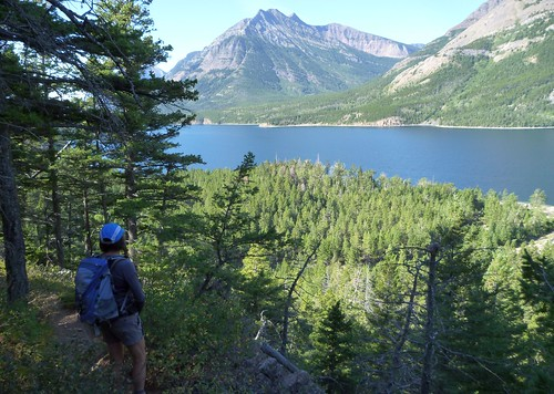Crypt Lake Trail and Upper Waterton Lake
