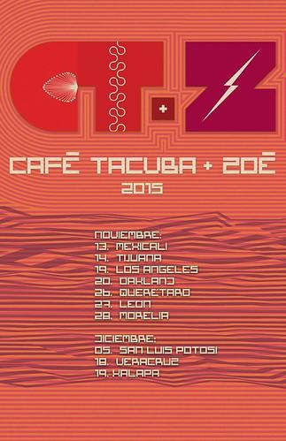 Gira Café Tacvba y Zoe