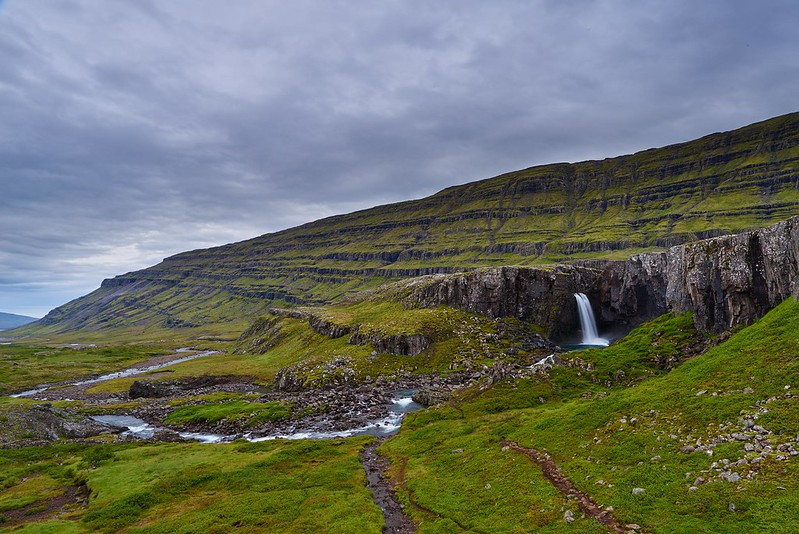 Waterfall - Berufjörður