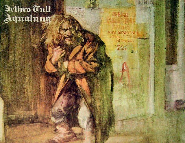 "Jethro Tull Aqualung Chrysalis Germany 12"" Vinyl LP"