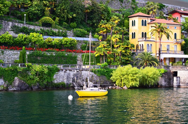 Yacht, Cannero Riviera, Lake Maggiore, Italy