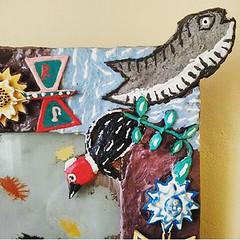 Criação de Timbuca por Raimundo Rodriguez... #AplausoBlogAuroradeCinema #RaimundoRodriguez #timbuca #arte #artebrasileira #cores #criatividade #brazil #lindodever #arteemfoco #patrimôniodoBrasil