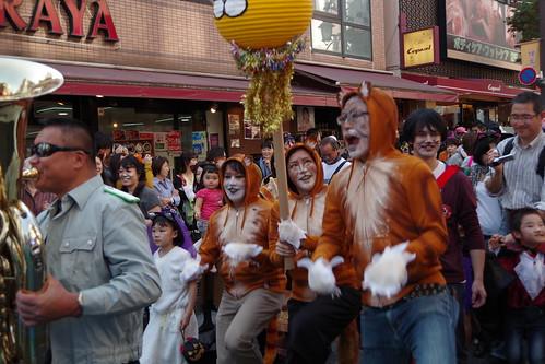 Cat's Halloween Parade in Kagurazaka 2015 06