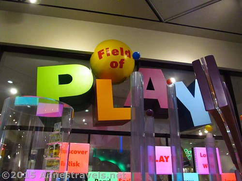 Outside the Field of Play exhibit at the Strong National Museum of Play, Rochester, New York