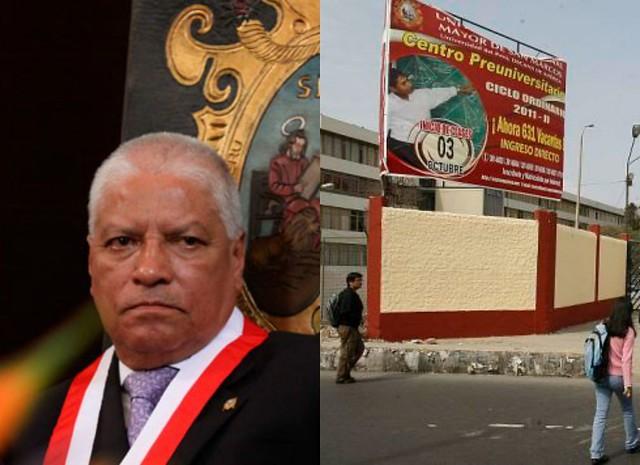 Rector de San Marcos pidió terminar clases en noviembre por El Niño