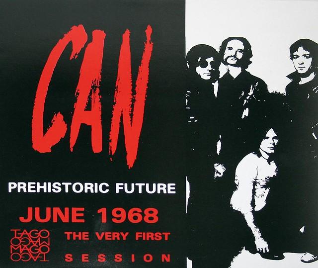 "CAN PREHISTORIC FUTURE 12"" LP Holger Czukay"
