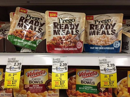 Pace or Prego Ready Meals
