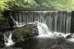 River Calder Waterfall - Lochwinnoch