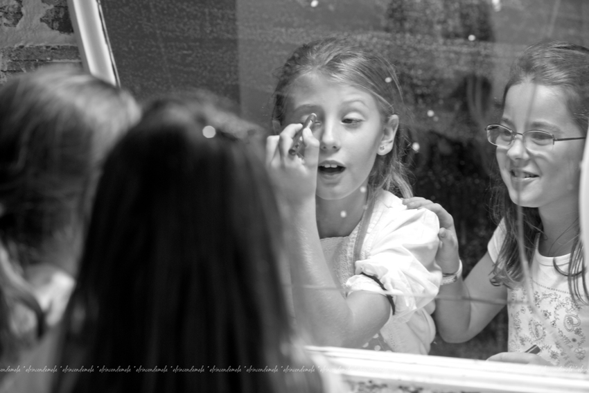 Make Up con Litel Pipol... Semana 20 (Tercer Año)