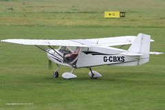 G-CBXS - 2002 build Best Off Skyranger, visiting Barton with some new black decals applied