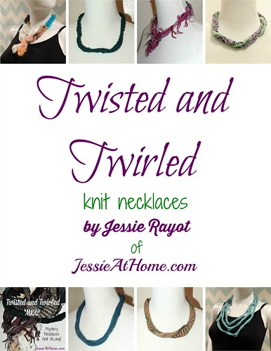 Twisted and Twirled Knit Necklaces book cover