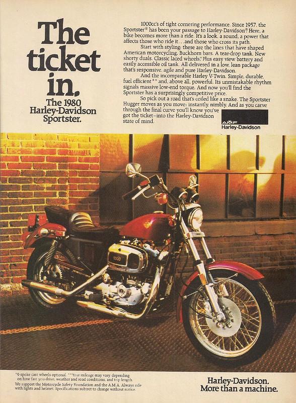 1980 Sportster