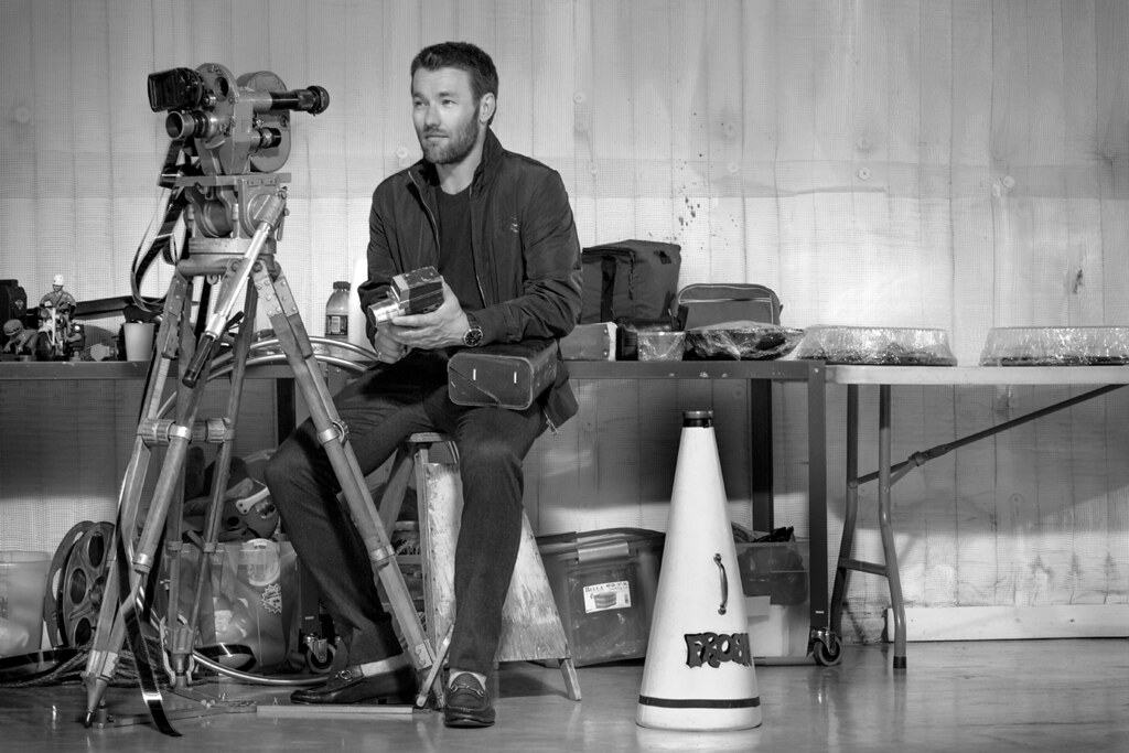 Джоэл Эдгертон — Фотосессия для «GQ» AU 2015 – 1