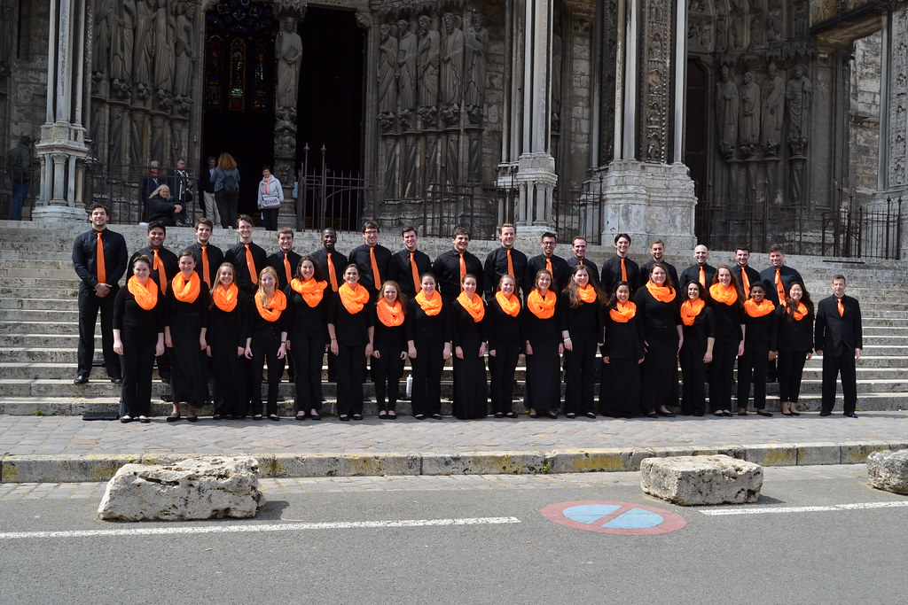 Syracuse University Singers 2015 Concert Tour of France