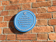 Photo of The George, Shaftesbury blue plaque