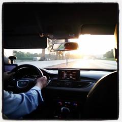 Drivin' towards the daylight
