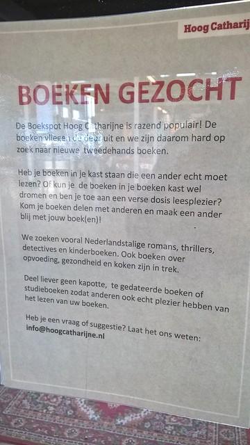 Boekspot Hoog Catharijne Utrecht