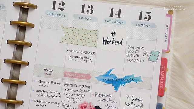 Plan With Me Sunday: Week 46 - LoveCharmaine.com