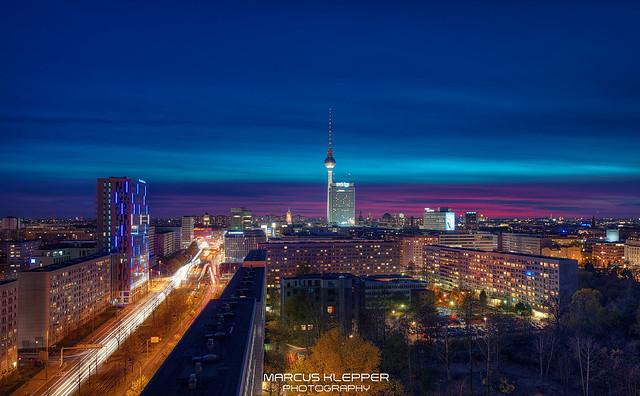 Skyline Berlin City