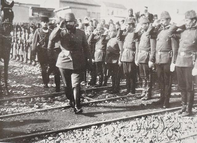 جمال باشا في دمشق 1914