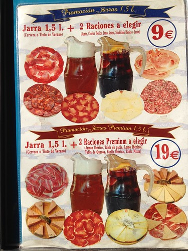 Museo de Jamon, so cheap.