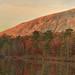 Stone Mountain, at Sunset, Stone Mountain Lake, Stone Mountain Park, DeKalb County, Georgia 1 by Alan Cressler