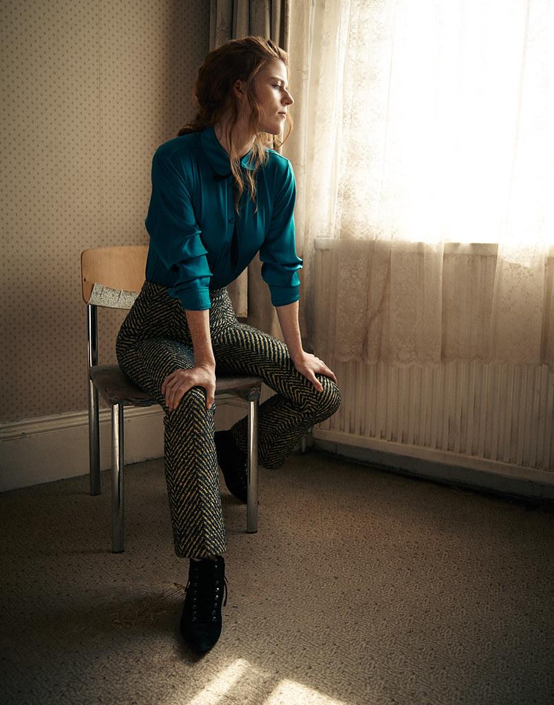 Роуз Лесли — Фотосессия для «Interview» 2015 – 2