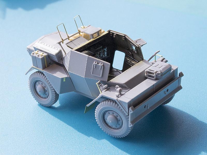 Projet Normandy : Dingo MK.III // Miniart // 1/35 23230808236_bdab92632b_c