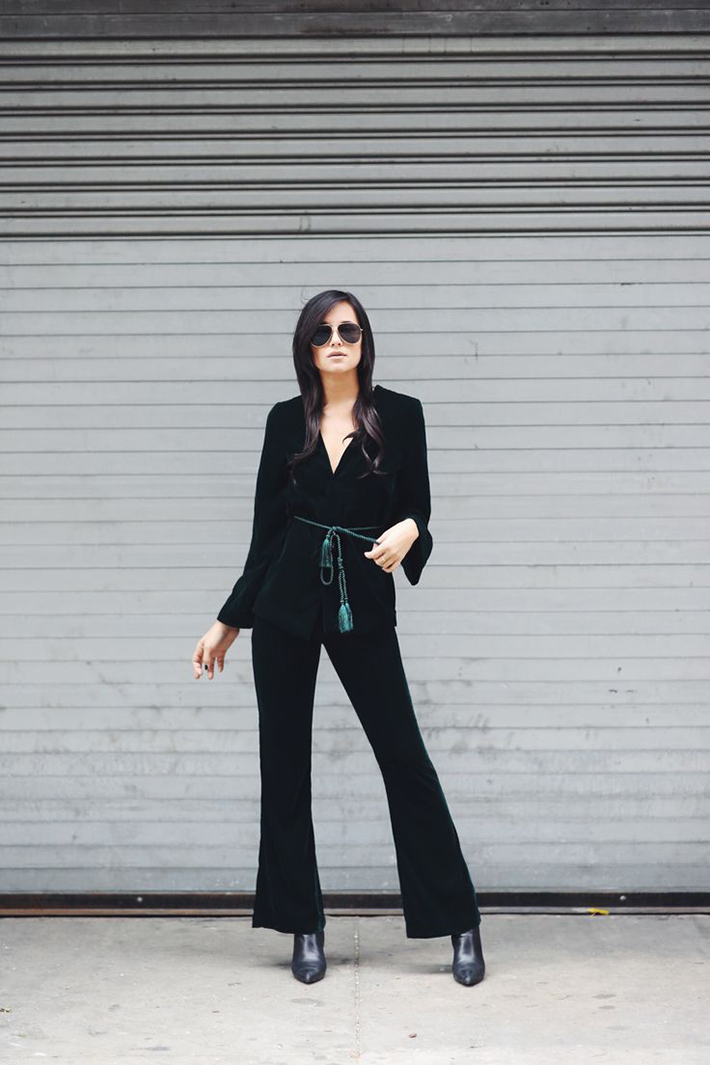 how to wear velvet streetstyle inspiration outfits15