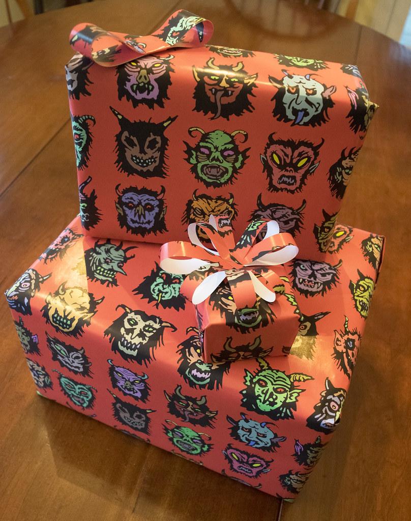 Aeron Alfrey - Krampus Gift Wrap 1