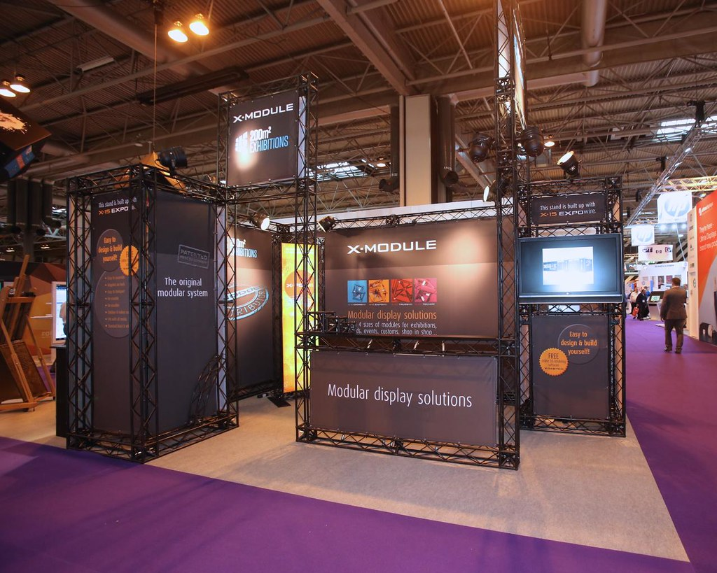 Exhibition Stands And Events : Exhibition stand trussing photos 200m2 is a global leader u2026 flickr