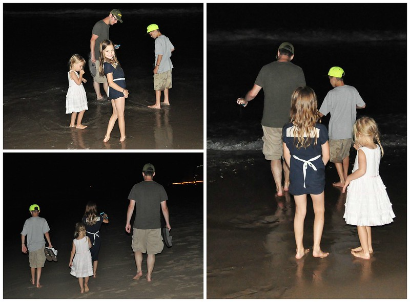 Night Walk on Virginia Beach