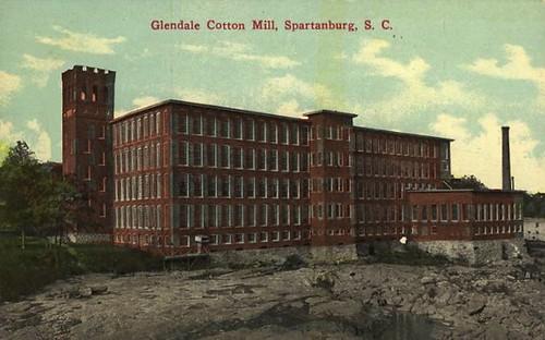 Glendale Cotton Mill circa 1910